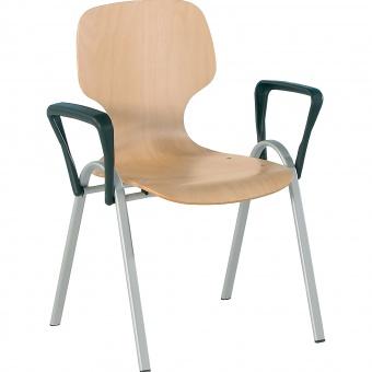 schalenstuhl mit armlehne mit sitzpolster g nstig online kaufen. Black Bedroom Furniture Sets. Home Design Ideas