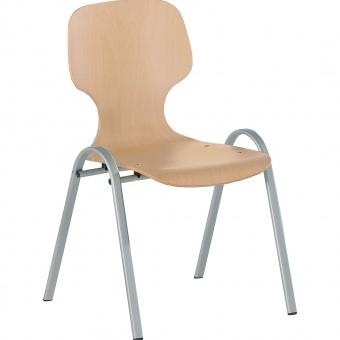 schalenstuhl ohne armlehne mit sitzpolster g nstig online kaufen. Black Bedroom Furniture Sets. Home Design Ideas