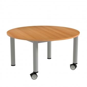 couchtisch rund 100 cm durchmesser 52 cm hoch g nstig online kaufen. Black Bedroom Furniture Sets. Home Design Ideas