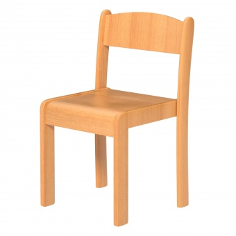 Schülerstuhl Massivholz Sitzfläche 32x32 Cm Sitzhöhe 30 Cm