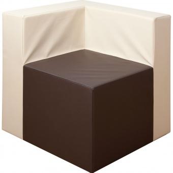 Sitzelement Sessel-Ecke, XXL, Sitzfläche 55x55 cm, Höhe 40 cm