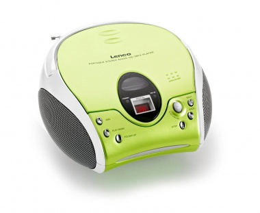 CD-Radiorecorder, Lenco SCD-24, Wiedergabeformate: CD/-R/-RW/MP3,