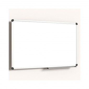whiteboard 90x60 cm mit 40 cm ablage stahl wei g nstig online kaufen. Black Bedroom Furniture Sets. Home Design Ideas