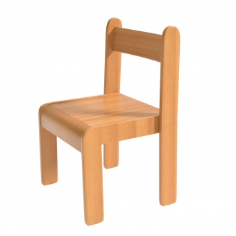 Schülerstuhl Massivholz Sitzfläche 29x29 Cm Sitzhöhe 30 Cm
