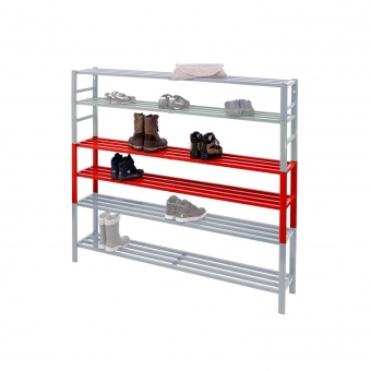 schuhregal aufsatzregal f r halbschuhe doppelt 40 cm. Black Bedroom Furniture Sets. Home Design Ideas