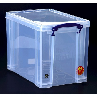 kunststoffbox transparent inkl deckel 19 liter g nstig online kaufen. Black Bedroom Furniture Sets. Home Design Ideas