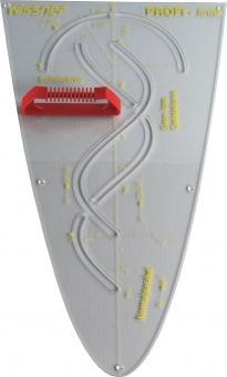 parabel schablone macrolon transparent sinuskurve innen 50 cm g nstig online. Black Bedroom Furniture Sets. Home Design Ideas