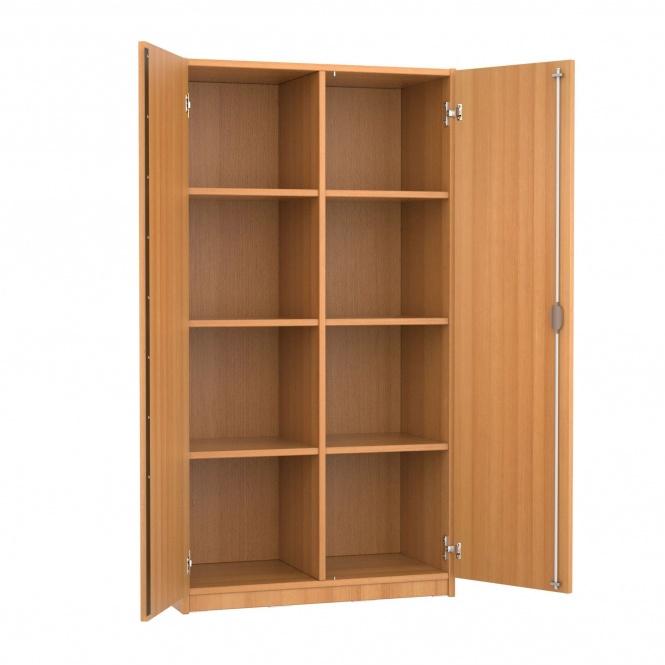 schrank 150 cm hoch 80x60 cm b t 2 dreh t ren 6 b den 4oh g nstig online. Black Bedroom Furniture Sets. Home Design Ideas