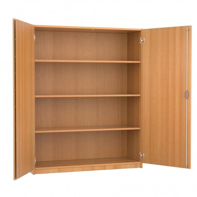 schrank 150 cm hoch 120x60 cm b t 2 dreh t ren 3 b den 4oh g nstig online. Black Bedroom Furniture Sets. Home Design Ideas