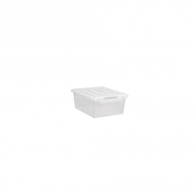 aufbewahrungsbox ergo tray 15 cm hoch transparent g nstig online kaufen. Black Bedroom Furniture Sets. Home Design Ideas